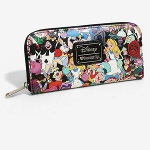 HTF Alice in Wonderland Loungefly Wallet